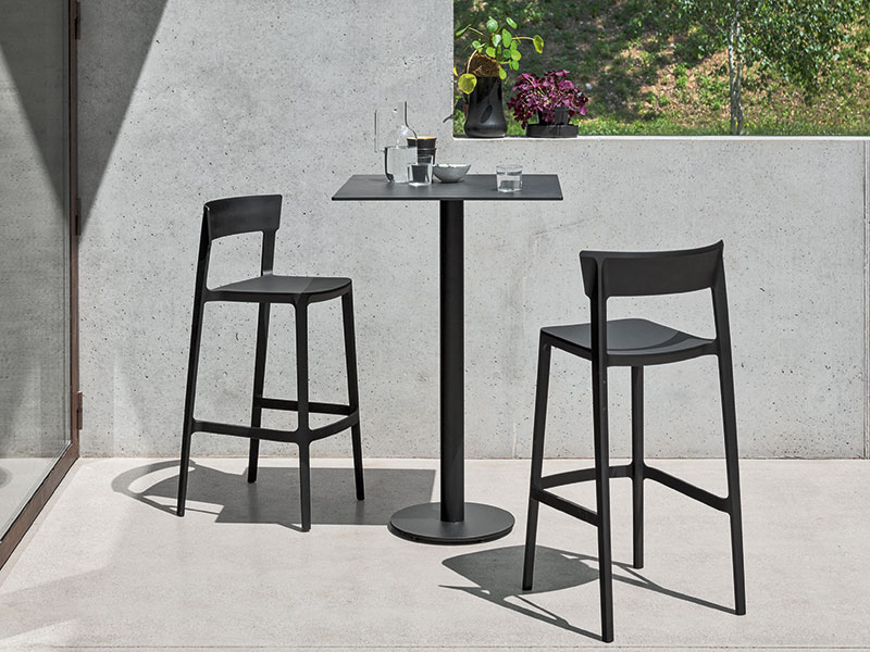 Photo de Tabouret de bar Skin de chez Calligaris
